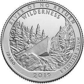 Фрэнк Черч Ривер (Айдахо) 25 центов США 2019 Двор на выбор
