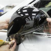 Оклейка зеркал авто защитной плёнкой