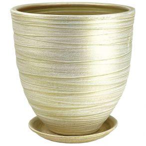 горшок модерн св.оливка 4 5-24 (55-424)