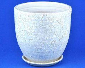 горшок Текстура бел/жемч.3 4-23 (58-323)