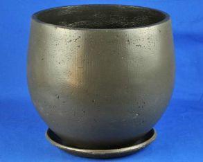 горшок Эллипс-1 d36/h36см (графит) (U231)