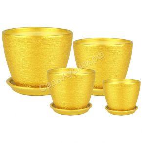 Бутон Кассандра из 4-х (золото) (78)