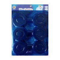 Чистящие таблетки для сливного бачка унитаза Blue Bubble, 6 шт (6)