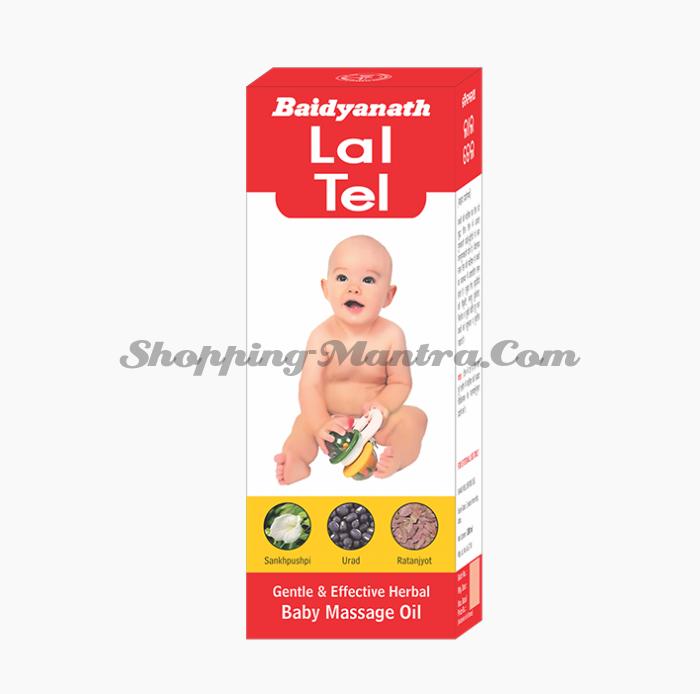 Массажное масло для детей Лал Тайл Байдьянатх | Baidyanath Lal Tail
