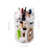 Вращающийся Органайзер Для Косметики GW-288 Cosmetic Storage Box Rotative Rack (5)