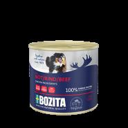 BOZITA Мясной паштет для собак, с говядиной. 625г