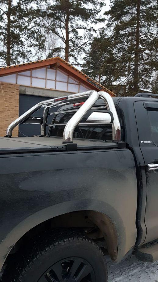 Дуга из нержавеющей стали Toyota Tundra Toyota Tundra в кузов со стоп-сигналом