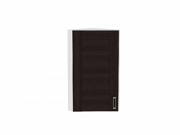 Шкаф верхний торцевой Лофт ВТ224Н (Wenge Veralinga)
