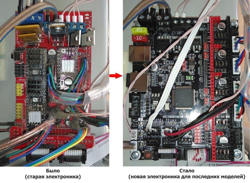 Модернизация электроники на SKR 1.3
