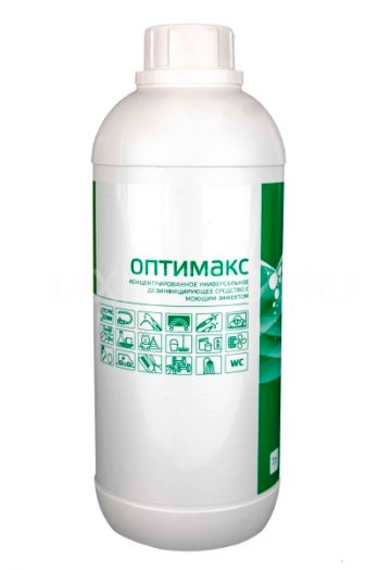 ОПТИМАКС дезинфицирующее и моющее средство 1 л