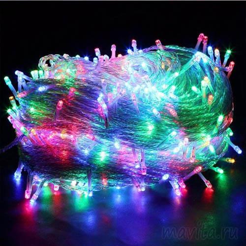 Светодиодная гирлянда 180 LED