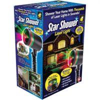 Лазерный проектор Star Shower Laser Light (Звездный дождь)