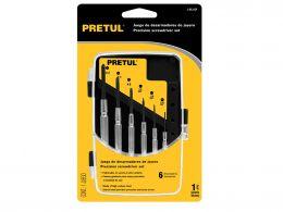 Набор мини-отверток PRETUL J-DEJ-6P 21382