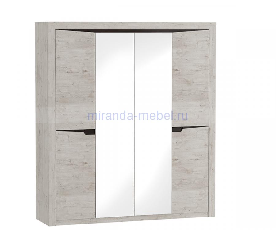 Соренто Шкаф 1,96м 4х створчатый