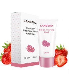 Lanbena - Средство от угрей с экстрактом клубники.(0175)