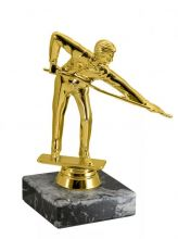 Приз статуэтка Бильярд на подставке