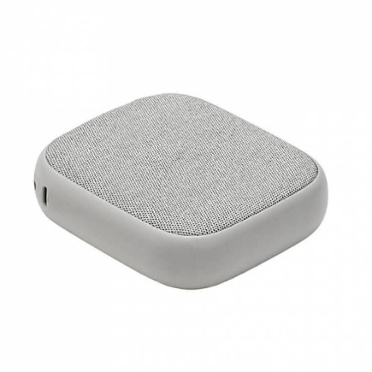 Power Bank с беспроводной зарядкой Xiaomi W5 Wireless Mobile Charging 10000 mAh Grey Sand