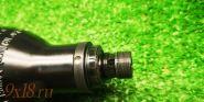Колба высокого давления с переходником для Z-образной клапанной группой для пневматической винтовки Крал Панчер - Kral Puncher