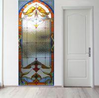 Панно на стену - Стеклянная дверь магазин Интерьерные наклейки