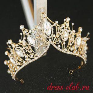 Корона и серьги