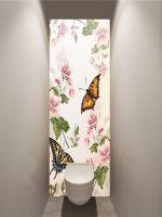Фотообои в туалет - Floral-2 магазин Интерьерные наклейки