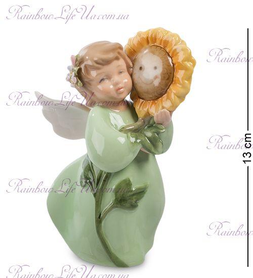 "Фигурка ангел с подсолнухом ""Pavone"""