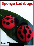 """Божьи коровки"" - Ladybugs - Sponge Lady Bugs by Alan Wong"