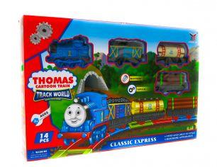 Игровой набор железная дорога Томас и его друзья (62х46 см.)