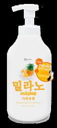 Milana пенка для душа с экстрактом ананаса и молочными протеинами 750 мл купить в Челябинске | Гель для душа цена