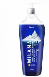 Гель для душа Milana MEN Таинственная арктика с маслом эвкалипта 750 мл купить в Челябинске | Гель-пенка для душа цена