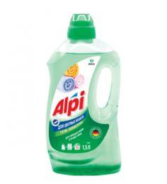 Гель-концентрат для цветных вещей ALPI 1,5л купить в Челябинске   Гель для стирки цена