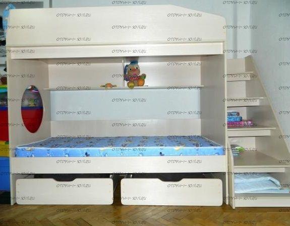 Кровать двухъярусная Легенда-10.3А
