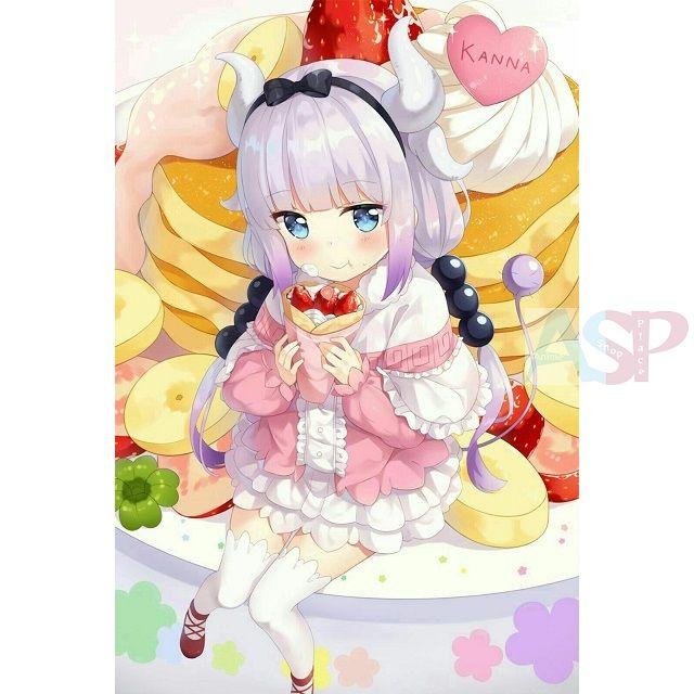 Плакат Kobayashi-san Chi no Maid Dragon