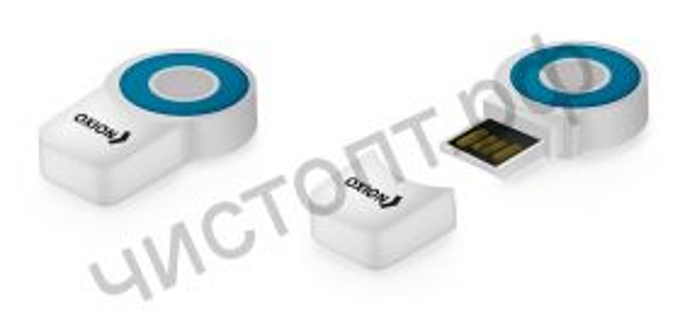 Картридер OXION OCR014BL, синий, USB 2.0 Micro SD до 32 Гб