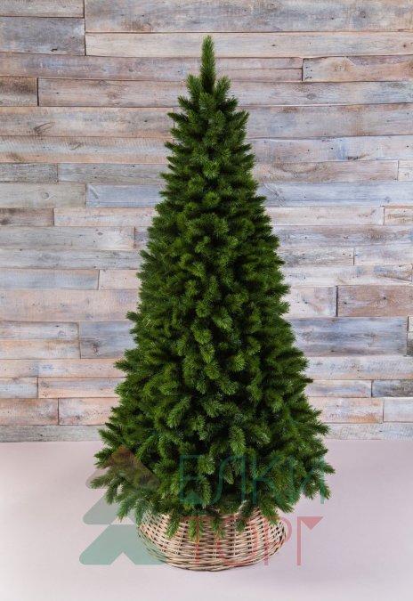 Искусственная елка Триумф Норд стройная 155 см зеленая