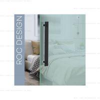 Ручка врезная Roc Design ST для стеклянных или деревянных дверей