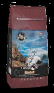 LANDOR ADULT CAT GRAIN FREE TURKEY & POTATO Сухой корм для кошек с индейкой и бататом, 400г