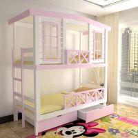 Кровать двухъярусная Домик Factory №27