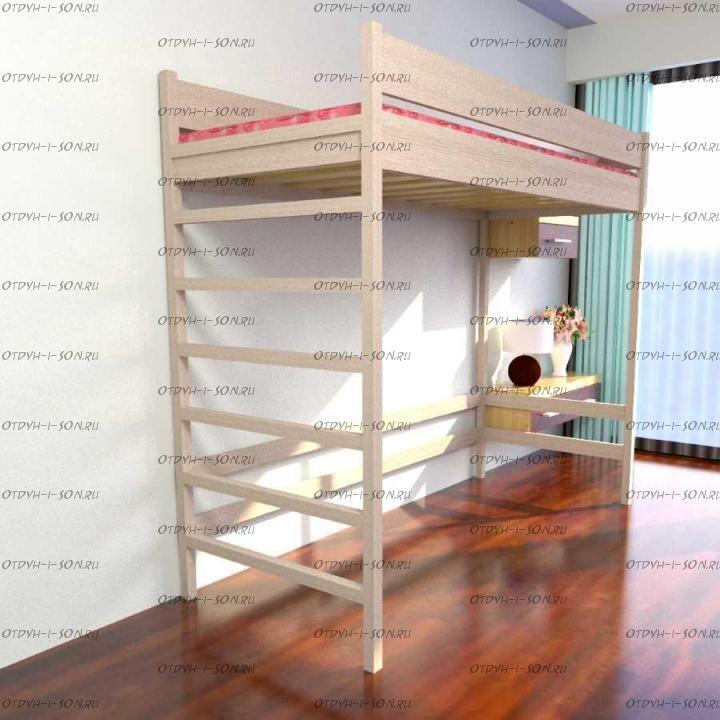 Кровать-чердак Factory №30