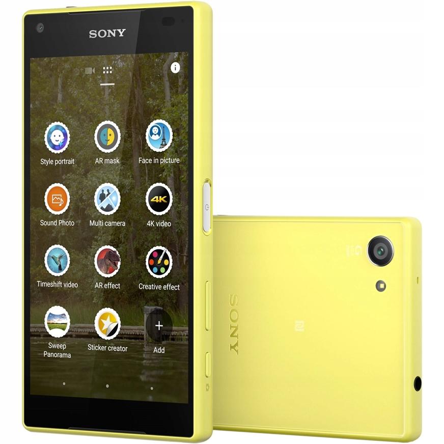 Смартфон Sony Xperia Z5 Compact (E5823) Yellow