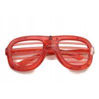Светодиодные Светящиеся Очки Led El, Цвет Красный (2)
