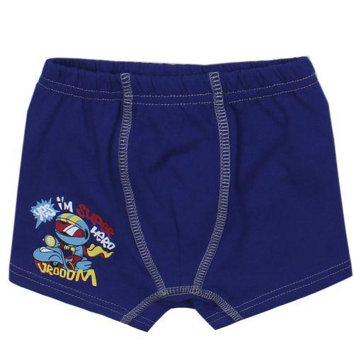 "Трусы-боксеры для мальчика Bonito kids 3-7 лет ""Super Hero"" темно-синий"