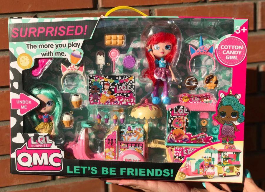 Игровой набор QMC Лол с двумя модными куклами