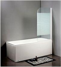 Душевая шторка на ванну BYON (16)  80x140 cm