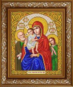 ИС-4054 Славяночка. Пресвятая Богородица Трех Радостей. А4 (набор 825 рублей)