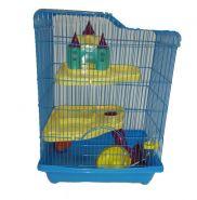 Клетка для мелких грызунов, 3 этажа