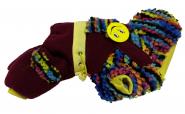 Rainbow Комбинезон для собак мелких пород (текстиль*флис) №10