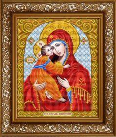 ИС-4011 Славяночка. Пресвятая Богородица Владимирская. А4 (набор 850 рублей)