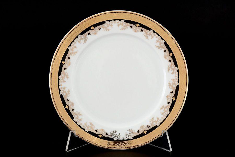 "Набор тарелок 17 см ""Кристина Черная Лилия"", 6 шт."