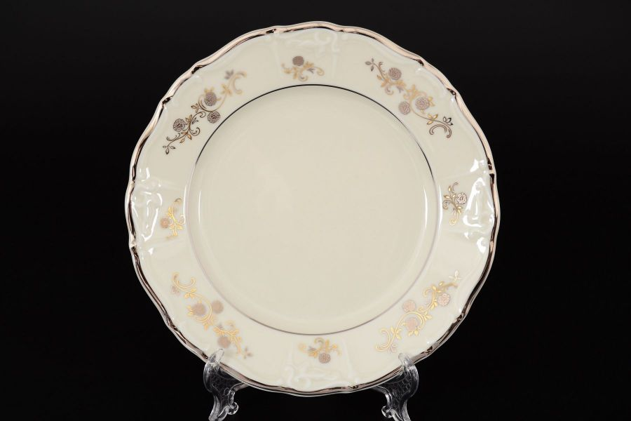 "Набор тарелок 19 см ""Мария Луиза IVORY"", 6 шт."
